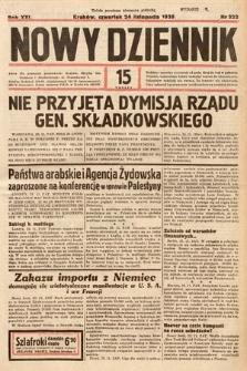 Nowy Dziennik. 1938, nr322