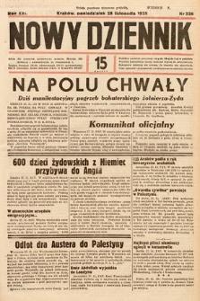 Nowy Dziennik. 1938, nr326