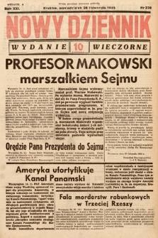 Nowy Dziennik (wydanie wieczorne). 1938, nr326