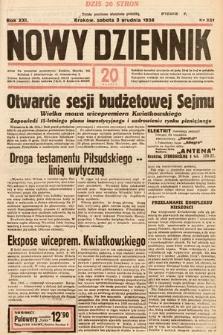 Nowy Dziennik. 1938, nr331