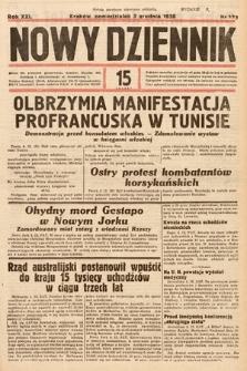 Nowy Dziennik. 1938, nr333