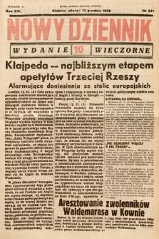 Nowy Dziennik (wydanie wieczorne). 1938, nr341
