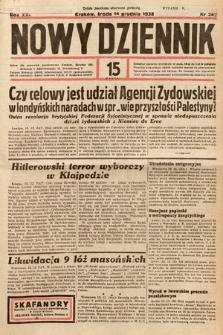 Nowy Dziennik. 1938, nr342