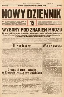 Nowy Dziennik. 1938, nr347