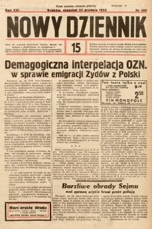 Nowy Dziennik. 1938, nr350