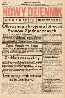 Nowy Dziennik (wydanie wieczorne). 1938, nr353