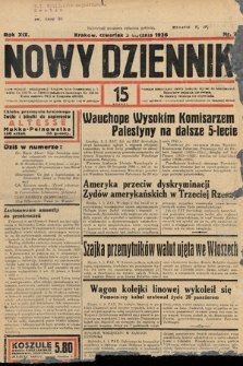 Nowy Dziennik. 1936, nr2