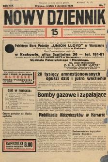 Nowy Dziennik. 1936, nr3