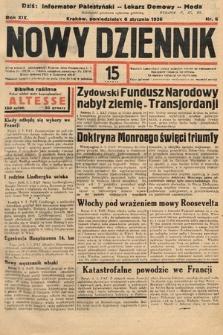Nowy Dziennik. 1936, nr6