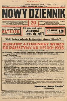 Nowy Dziennik. 1936, nr19