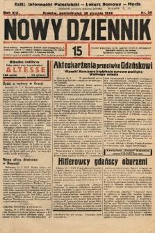 Nowy Dziennik. 1936, nr20