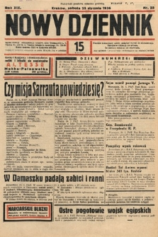 Nowy Dziennik. 1936, nr25