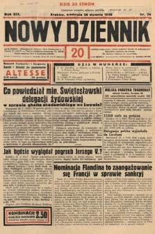 Nowy Dziennik. 1936, nr26