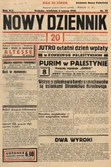 Nowy Dziennik. 1936, nr33