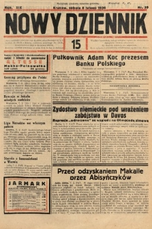 Nowy Dziennik. 1936, nr39