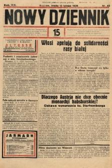 Nowy Dziennik. 1936, nr43