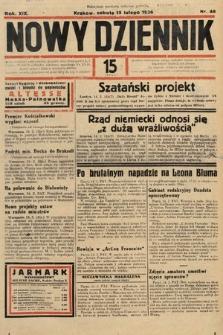 Nowy Dziennik. 1936, nr46