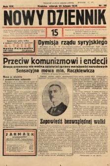 Nowy Dziennik. 1936, nr56