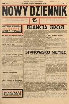 Nowy Dziennik. 1936, nr73