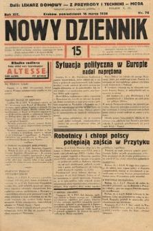 Nowy Dziennik. 1936, nr76