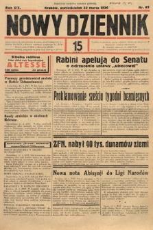 Nowy Dziennik. 1936, nr83