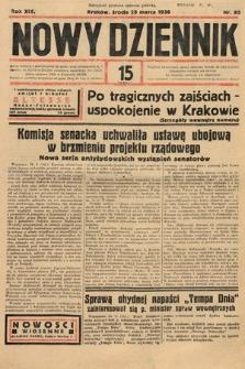 Nowy Dziennik. 1936, nr85