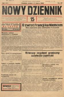 Nowy Dziennik. 1936, nr87