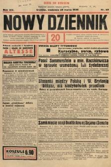 Nowy Dziennik. 1936, nr89