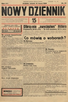 Nowy Dziennik. 1936, nr91