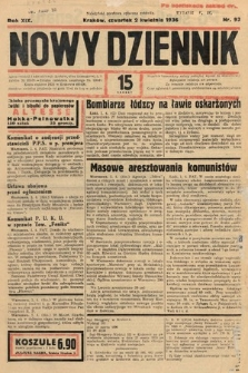 Nowy Dziennik. 1936, nr93
