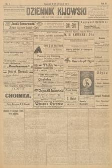 Dziennik Kijowski : pismo polityczne, społeczne i literackie. 1911, nr5