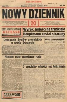 Nowy Dziennik. 1936, nr96
