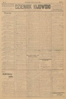 Dziennik Kijowski : pismo polityczne, społeczne i literackie. 1911, nr8