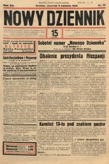 Nowy Dziennik. 1936, nr99