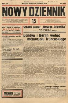 Nowy Dziennik. 1936, nr100