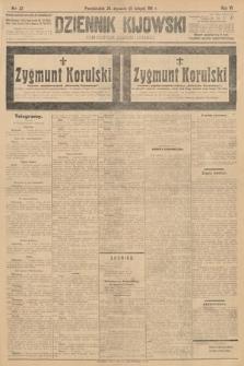 Dziennik Kijowski : pismo polityczne, społeczne i literackie. 1911, nr22