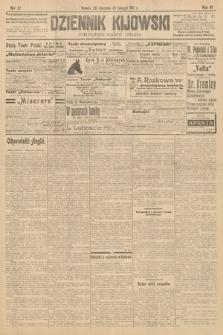 Dziennik Kijowski : pismo polityczne, społeczne i literackie. 1911, nr27