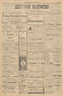 Dziennik Kijowski : pismo polityczne, społeczne i literackie. 1911, nr47