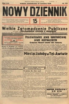 Nowy Dziennik. 1936, nr115