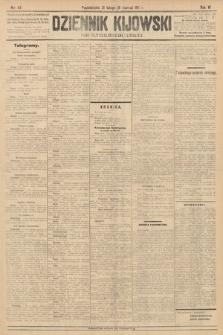 Dziennik Kijowski : pismo polityczne, społeczne i literackie. 1911, nr49