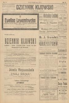 Dziennik Kijowski : pismo polityczne, społeczne i literackie. 1911, nr72