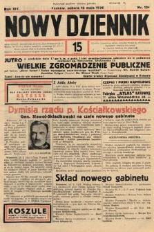 Nowy Dziennik. 1936, nr134