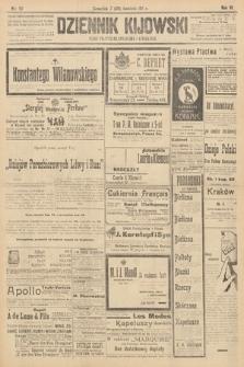 Dziennik Kijowski : pismo polityczne, społeczne i literackie. 1911, nr93