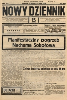 Nowy Dziennik. 1936, nr139