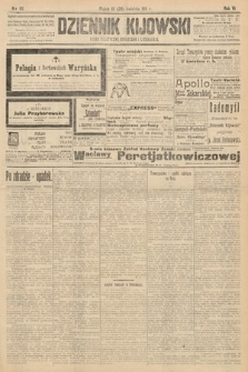 Dziennik Kijowski : pismo polityczne, społeczne i literackie. 1911, nr98