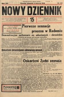 Nowy Dziennik. 1936, nr153