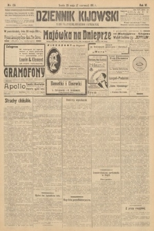 Dziennik Kijowski : pismo polityczne, społeczne i literackie. 1911, nr135