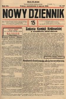 Nowy Dziennik. 1936, nr157