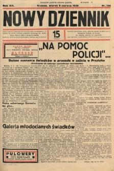 Nowy Dziennik. 1936, nr158