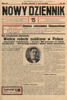 Nowy Dziennik. 1936, nr160